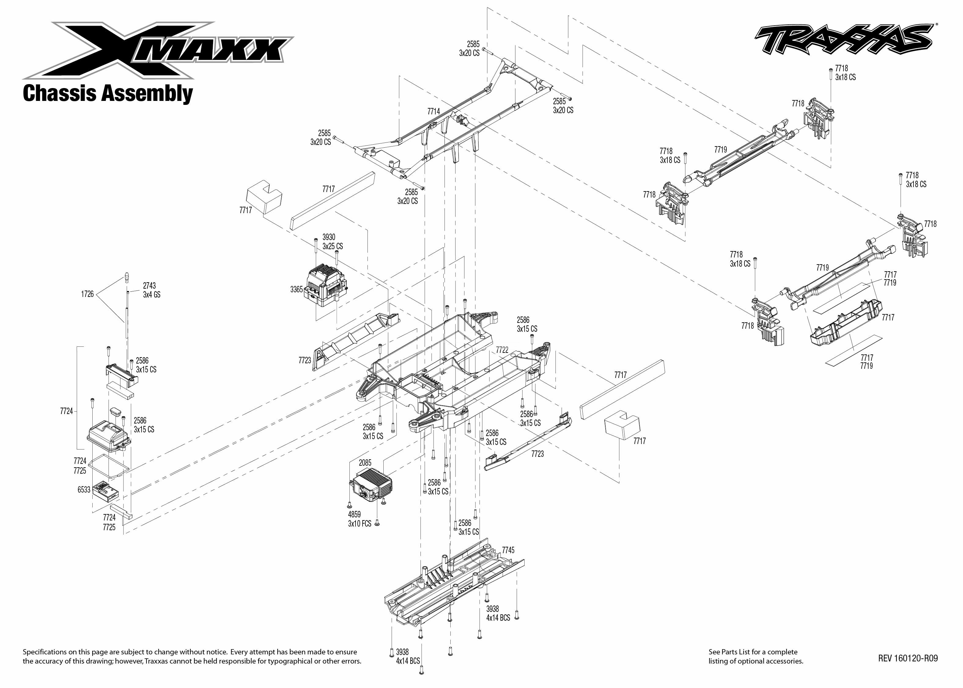 traxxas t maxx parts diagram html