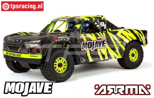 ARA106058T1 ARRMA 1/7 Mojave 6S BLX 4WD Groen/zwart RTR