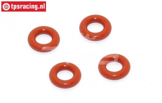 BWS53016/04 Schokdemper O-ring onder BWS-LOSI, 4 st.