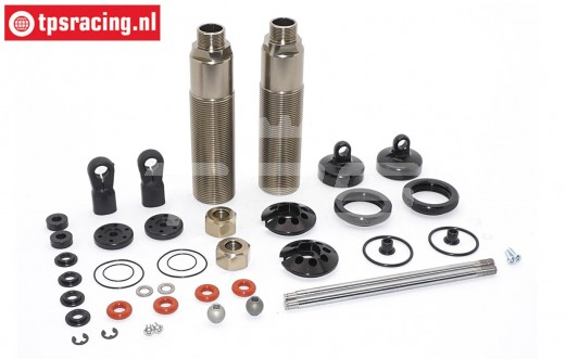 FG67331 Aluminium Big-Bore Schokdemper Ø30-L265 mm, set