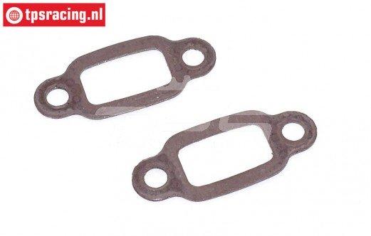 FG7332 Uitlaat pakking met staal kern, 2 st.