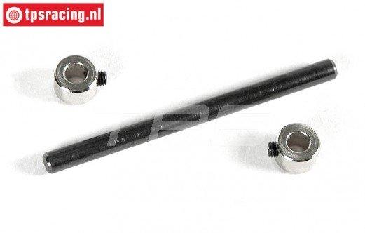 FG8092 Schokdemper stift/ring Ø4-L56 mm 2WD, Set