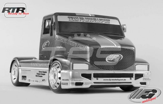Super Race Truck Sports-Line 2WD-530 RTR, (Transparante Kap)
