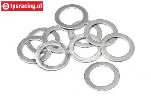 HPI87584 Pas ring Ø12-Ø18-H0,5 mm, 10 St.