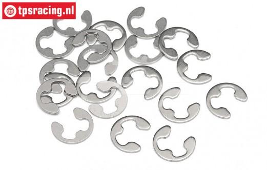 HPIZ103 E-clips Ø4 mm, 12 St.