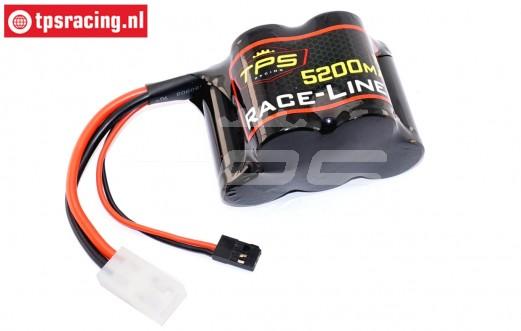 TPS5200/HP Racing-Line Hump Pack accu 5200 mAh 6,0 Volt 15C, 1 st.