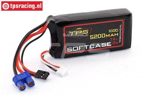 TPS5200/2SS 2S Li-Po Race-Line 5200 mAh 100C, 1 st.