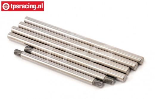 LOSB2080 LOSI 5IVE-T Draagarm pen, Set