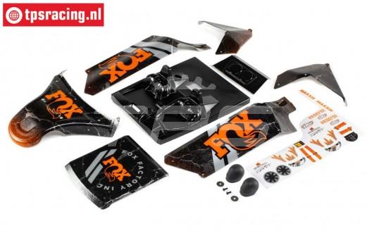 LOS250043 LOSI DBXL-E 2.0 FOX Kap, set