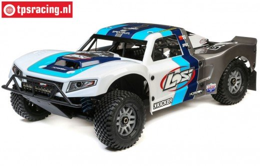 LOS05014T1 LOSI 5IVE-T 2.0 Short Course Truck, BND, Blauw