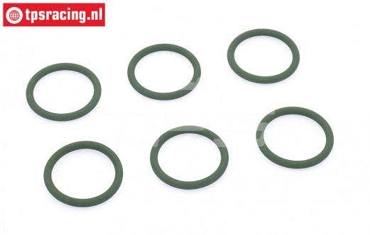 Samba 2270 O-ring, (Ø20-D2,5 mm), 6 st.