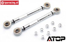AT-5T012 ATOP Camber stang voor LOSI-BWS, Set