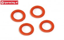 BWS53023 Differentieel Siliconen O-ring BWS-LOSI, 4 st