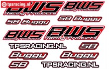 BWS 5B Buggy Stickers TPS, 1 st