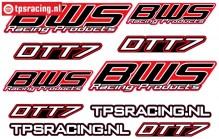 TPS19/080 BWS DTT-7 Stickers, 1 st