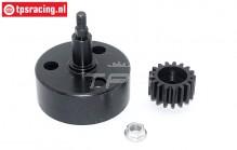 TPS5092 Koppeling klok met zeskant Ø12-Ø54 mm, set
