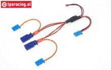 TPS0528 Siliconen Directe spanning kabel Gold L30 cm, 1 st.