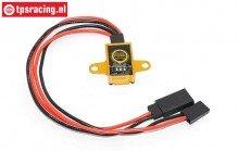 TPS0594G Micro Ontvanger schakelaar Goud, 1 st.