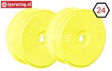 FG67216 1/6 Disk Velgen Tire Safe Geel Ø130-B65 mm, 2 St.