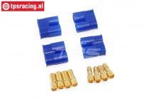 TPS0536 EC3 Gold stekker, 4 st.
