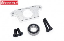 TPS5125/01 Aluminium Tussen as houder, Zilver, Set