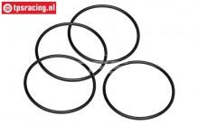 HPI15415 O-ring lucht filter Ø50-D2,6 mm, 4 st.