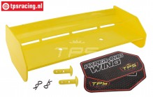 TPS85451/40 Nylon Achterspoiler Geel HPI-ROVAN, Set