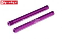 HPI86628 Spoiler houder pen Paars, 2 st.