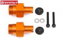 HPI112845 HPI Baja HD Wiel as voor Oranje, Set