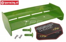TPS85451/30 Nylon Achterspoiler Groen HPI-ROVAN, Set