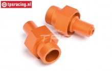 HPI87493 Wiel as voor Oranje, 2 st.