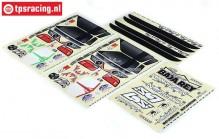 LOS250031 LOSI SB-Rey Stickers, Set