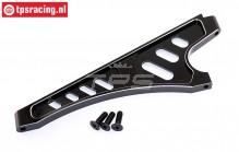 TPS7050/02 Aluminium Chassis strip voor LOSI-BWS, 1 st.