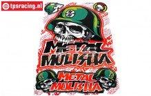TPS19/046 Stickers Metal Mulisha, 1 st.