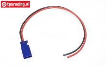 TPS0515/30 Siliconen kabel Male Gold L30 cm, 1 st.