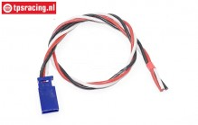TPS0543/30 Siliconen kabel Male Gold L30 cm, 1 st.
