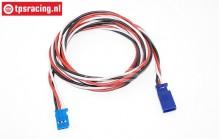 TPS0540/100 Siliconen verleng kabel Futaba Gold L100 cm, 1 st.