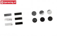 SPM1512 Spektrum Telemetrie sensor toerental stickers, Set