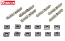 TLR352001 TLR Tuning Diff-delen 5B-5T-BWS, Set