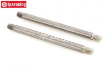 TLR354001 TLR 5IVE-B Tuning Draagarm pen buiten, 2 st.