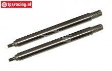 TLR353002 Tuning Schokdemper stang kort TLR-LOSI-BWS, 2 st.