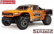 ARA102721T2 ARRMA 1/10 SENTON 3S Truck Oranje