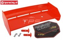 TPS85451/20 Nylon Achterspoiler Rood HPI-ROVAN, Set
