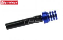 TPS0710/02 Aluminium tank ventilatie Blauw, 1 st.