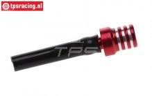 TPS0710/04 Aluminium tank ventilatie Rood, 1 st.