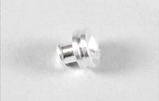 Mecatech remzadel zuiger, (Ø3,0-L18 mm), (Aluminium), 1 St.