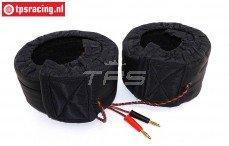 TPS0428/06 1/6 Banden warmers 12 Volt-B60 mm, 2 st.
