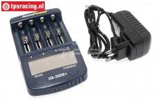 Lader, Accupower IQ-328+, 220 volt, Set