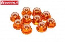 TPS1225/04 Alu borgmoer M5 Oranje, 10 st.