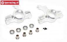 Area RC, Fusee voor binnen, (DBXL & MTXL), (silver Aluminium), set